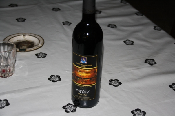 ashusPhotograpy-Our purchase of homemade Red wine bottle.