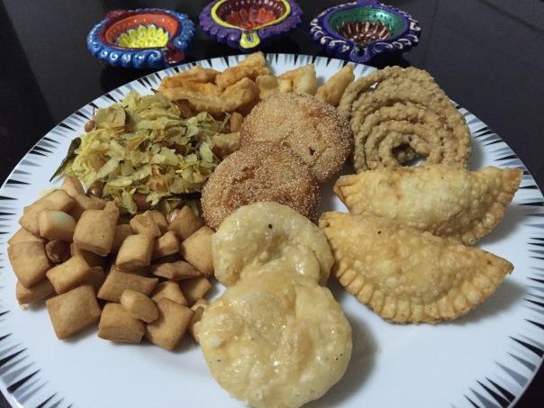 ashus Diwali Faral/snacks